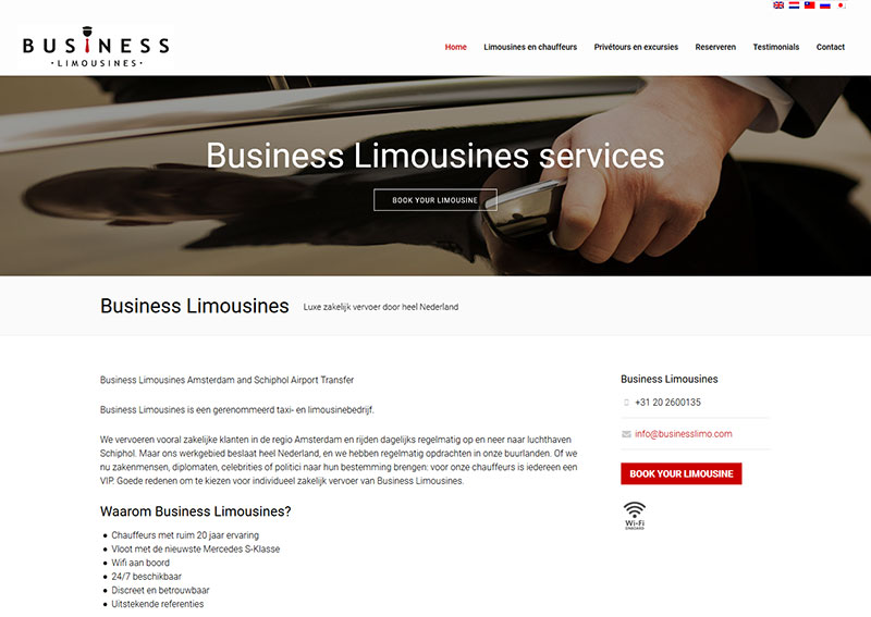 Business Limousines services